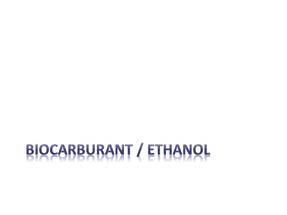 Biocarburant / ethanol