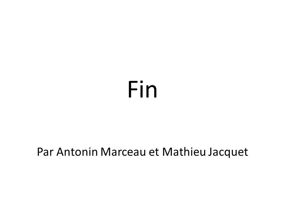 Par Antonin Marceau et Mathieu Jacquet