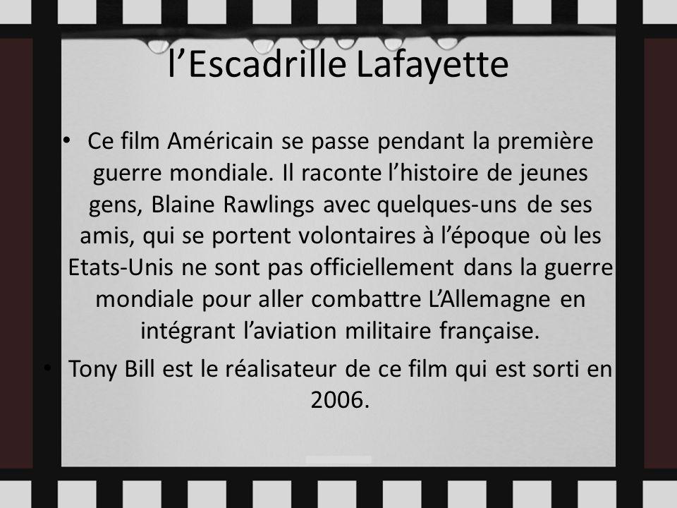 l'Escadrille Lafayette