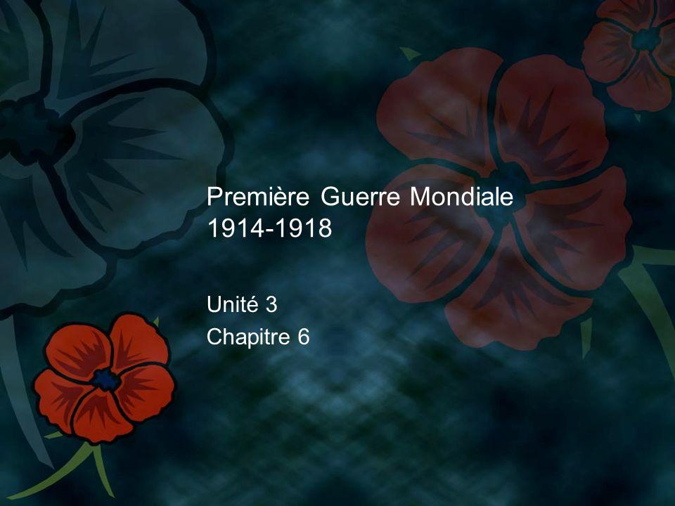 Première Guerre Mondiale 1914-1918