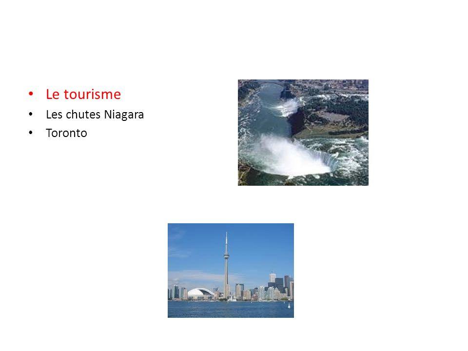 Le tourisme Les chutes Niagara Toronto