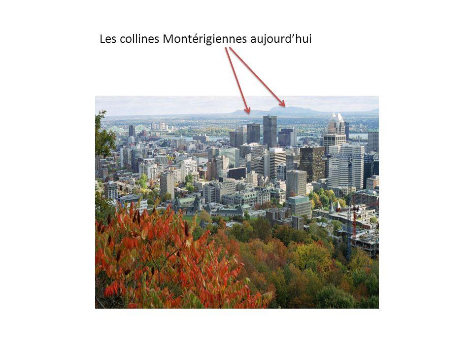 Les collines Montérigiennes aujourd'hui