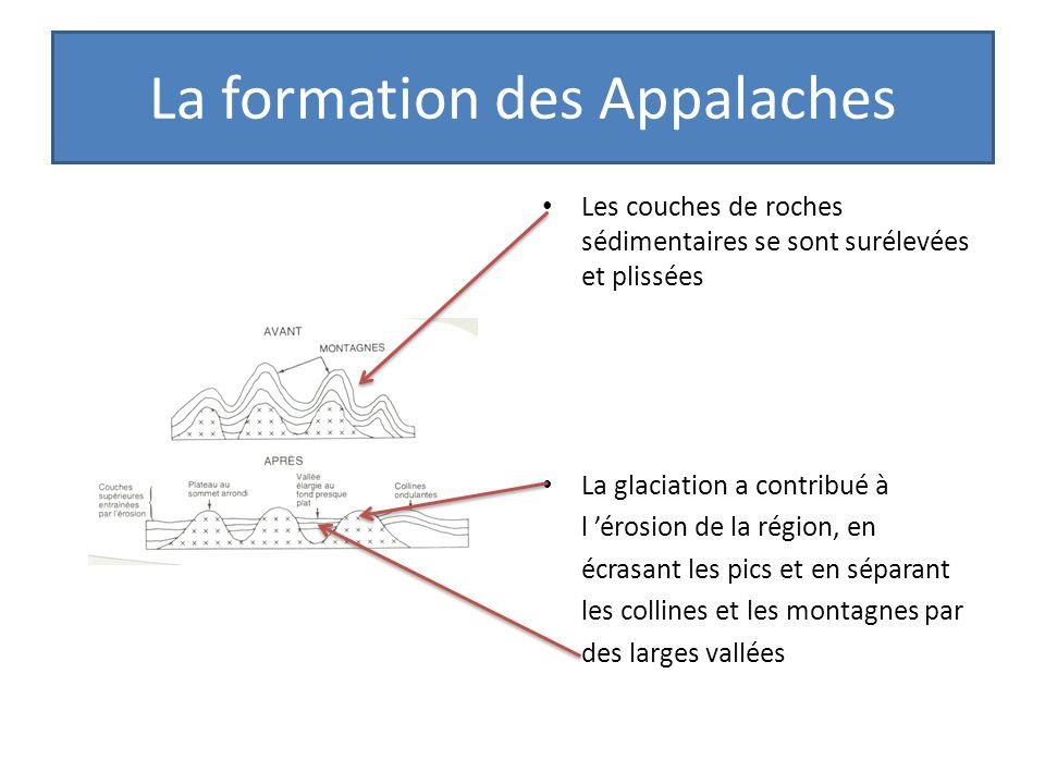La formation des Appalaches