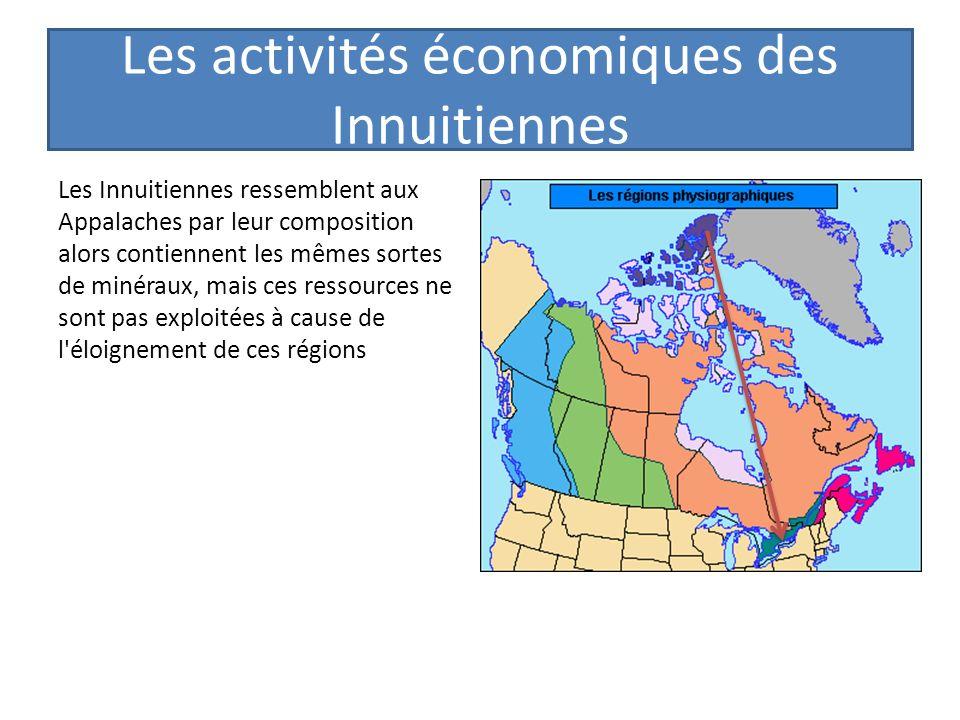 Les activités économiques des Innuitiennes