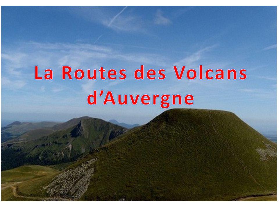 La Routes des Volcans d'Auvergne