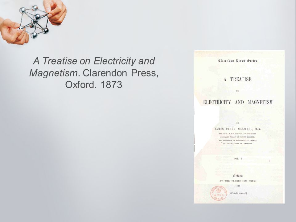 A Treatise on Electricity and Magnetism. Clarendon Press, Oxford. 1873