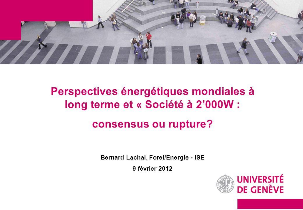 Bernard Lachal, Forel/Energie - ISE