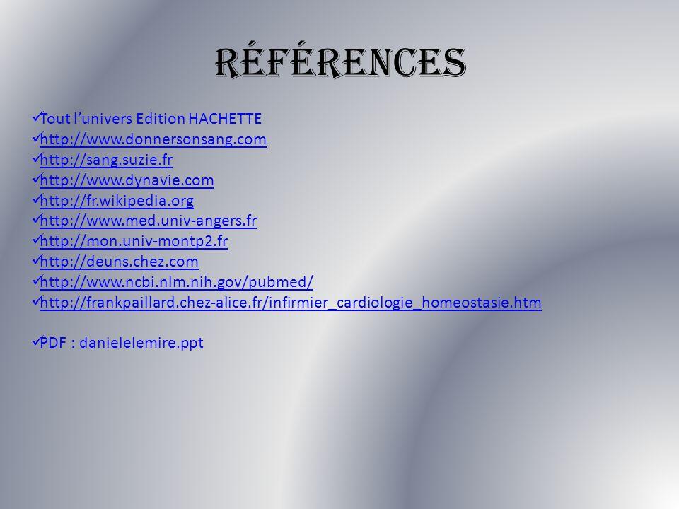 Références Tout l'univers Edition HACHETTE