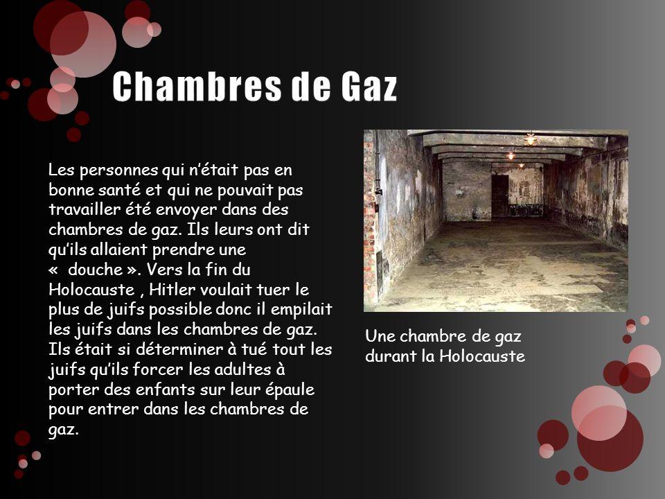 Chambres de Gaz
