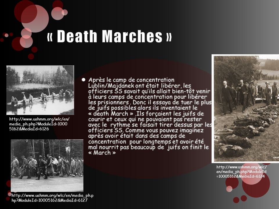 « Death Marches »