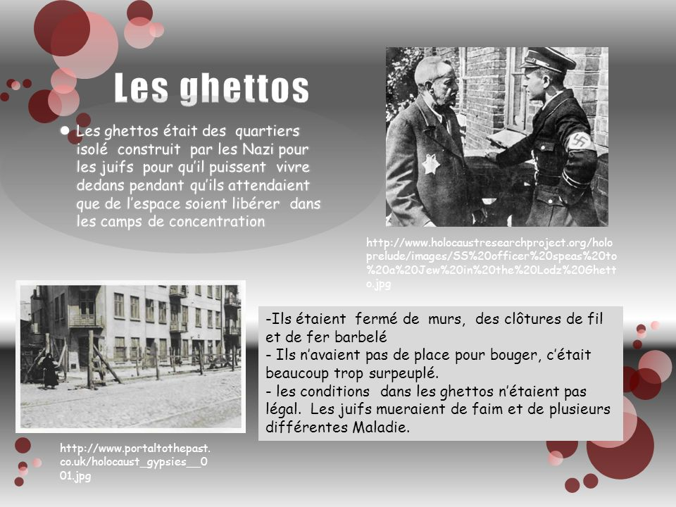Les ghettos