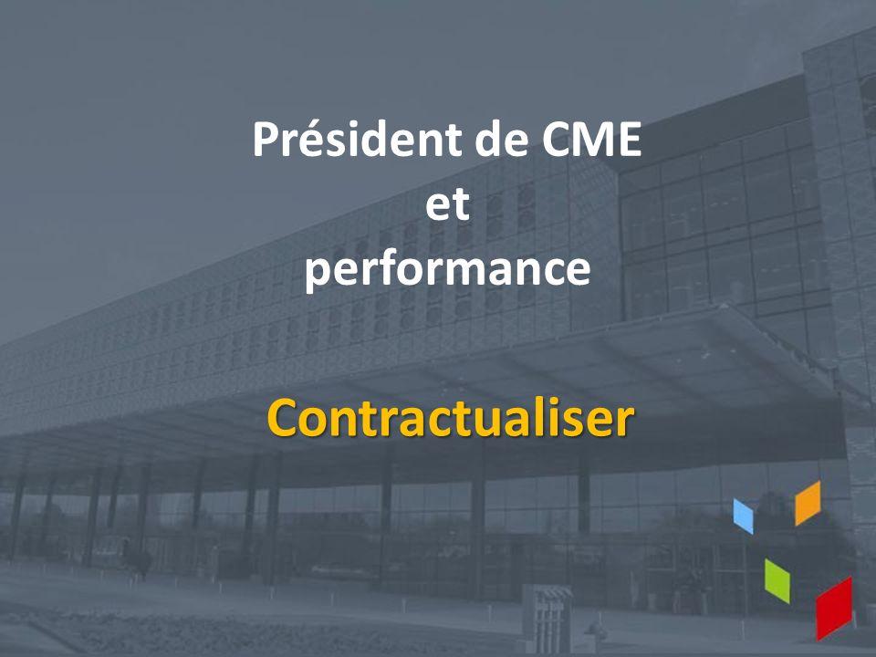 Président de CME et performance