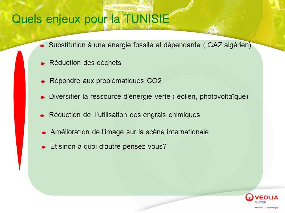 Quels enjeux pour la TUNISIE
