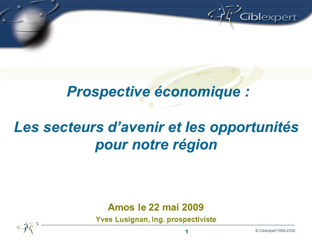 Amos le 22 mai 2009 Yves Lusignan, ing. prospectiviste