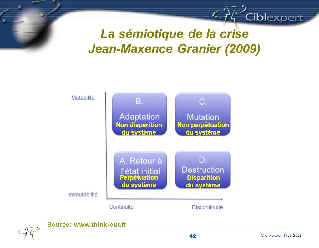 La sémiotique de la crise Jean-Maxence Granier (2009)