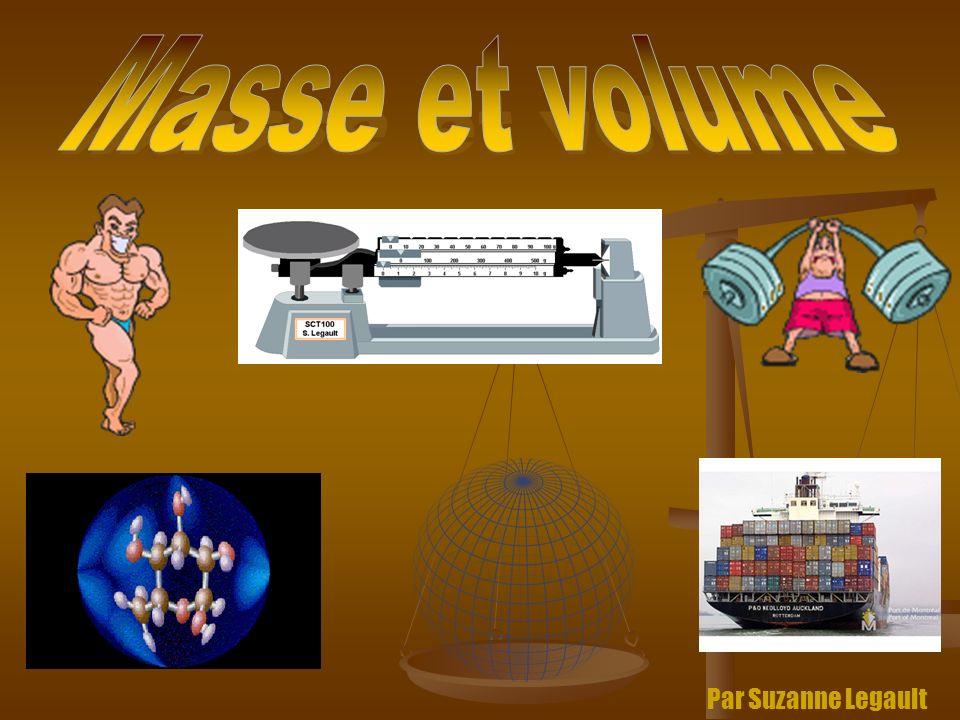 Masse et volume Par Suzanne Legault