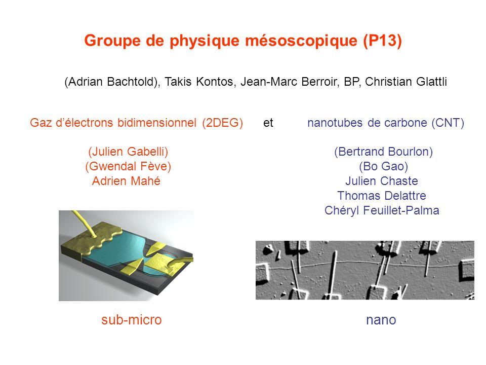 Groupe de physique mésoscopique (P13)