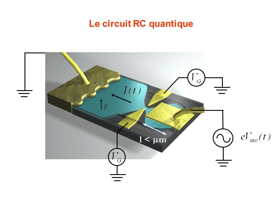 Le circuit RC quantique