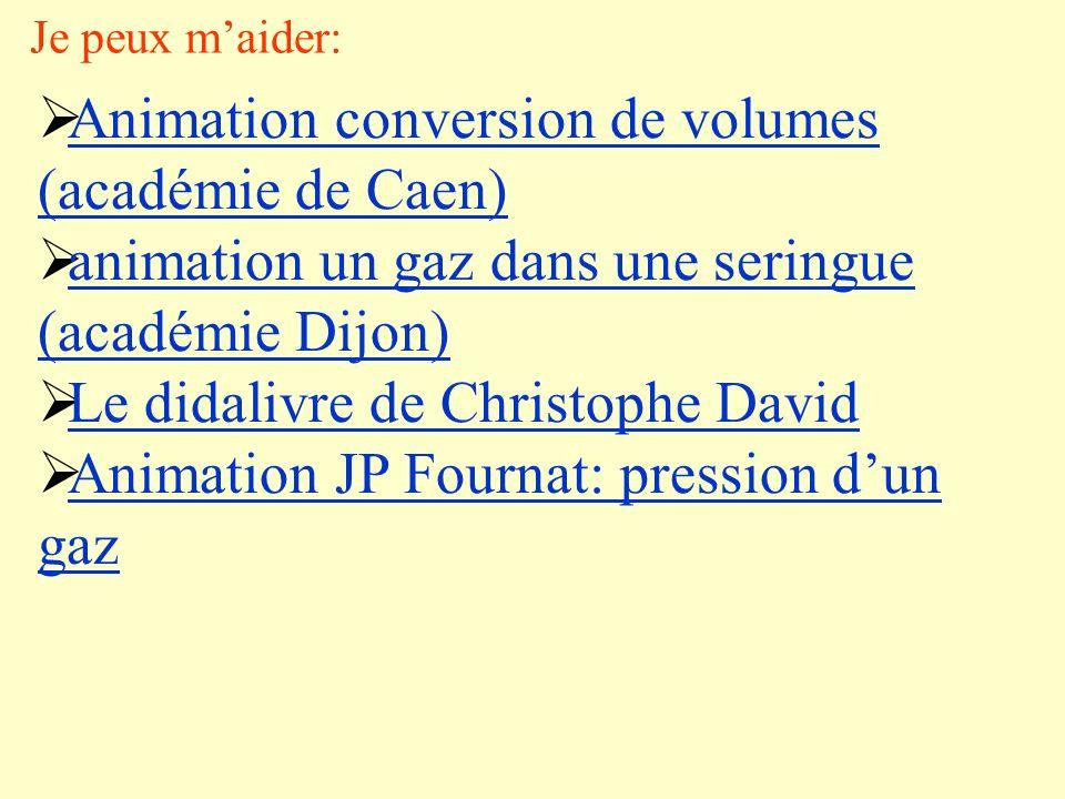 Animation conversion de volumes (académie de Caen)