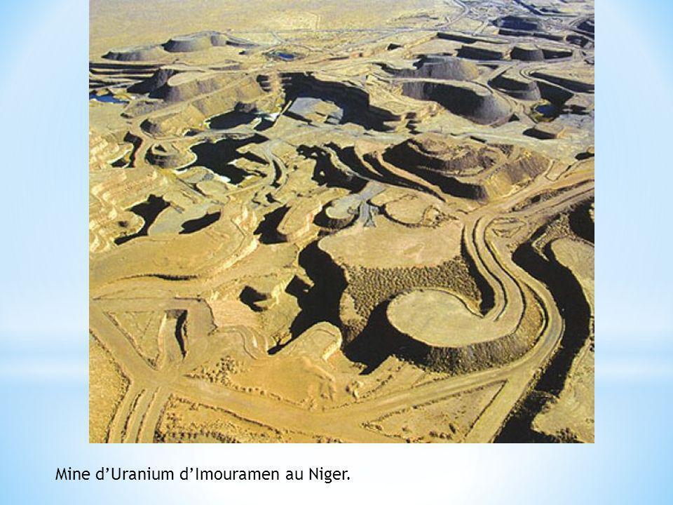 Mine d'Uranium d'Imouramen au Niger.