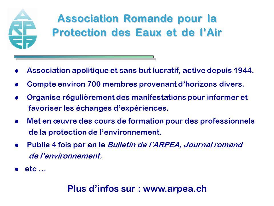 Association Romande pour la Protection des Eaux et de l'Air