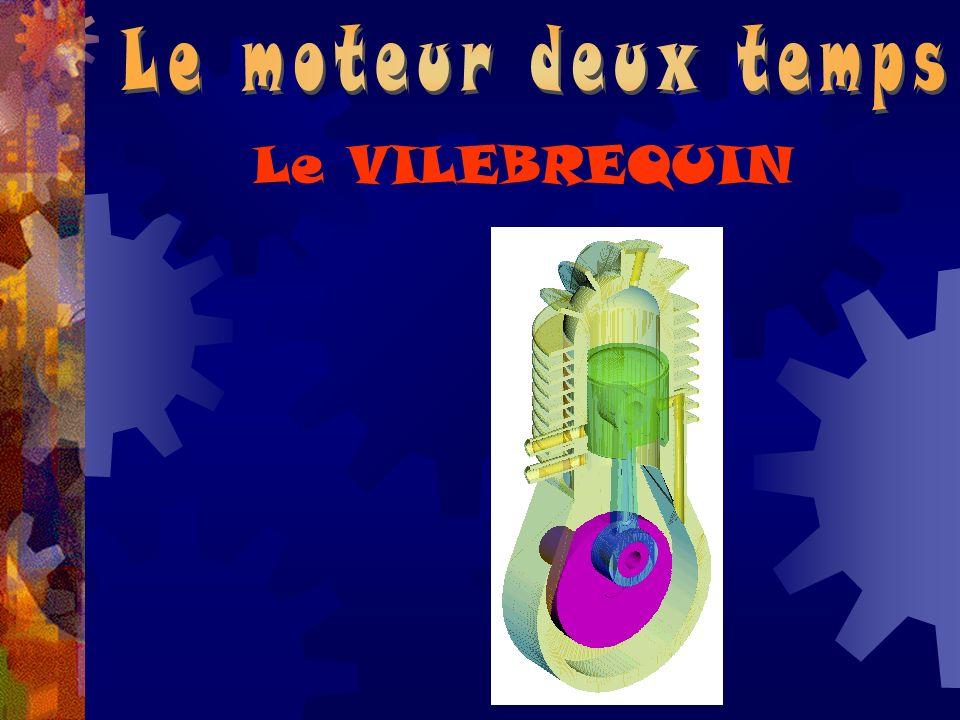 Le moteur deux temps Le VILEBREQUIN