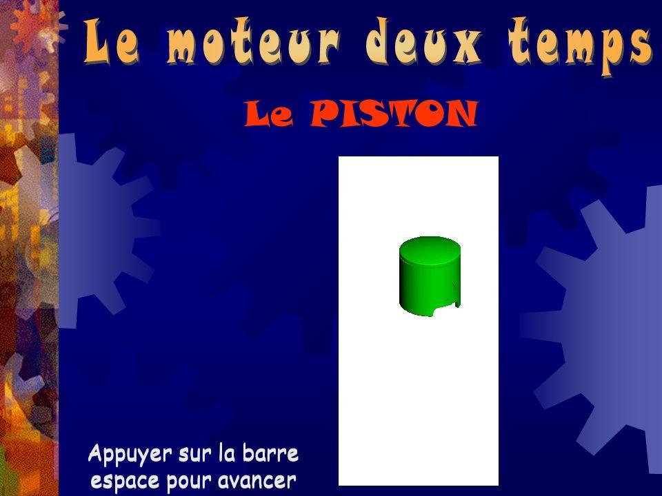 Le PISTON Le moteur deux temps