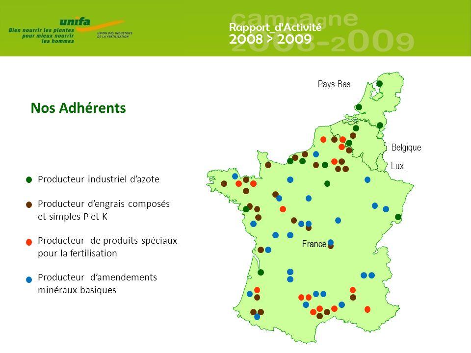 Nos Adhérents Producteur industriel d'azote