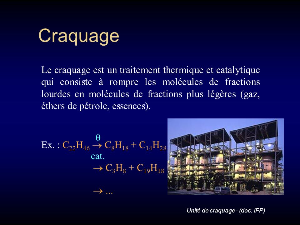 Craquage