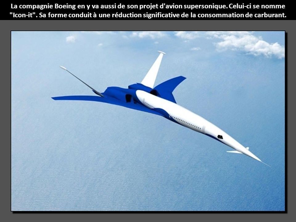 La compagnie Boeing en y va aussi de son projet d avion supersonique