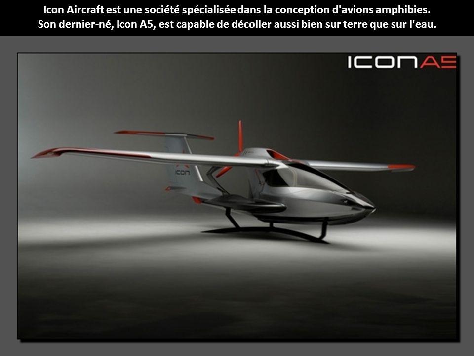 Icon Aircraft est une société spécialisée dans la conception d avions amphibies.