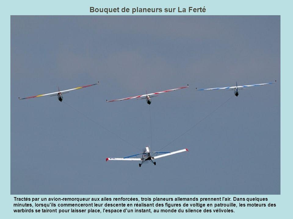 Bouquet de planeurs sur La Ferté