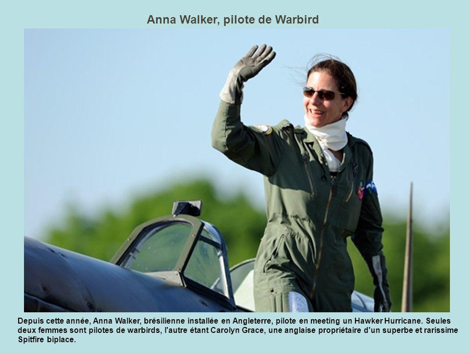 Anna Walker, pilote de Warbird