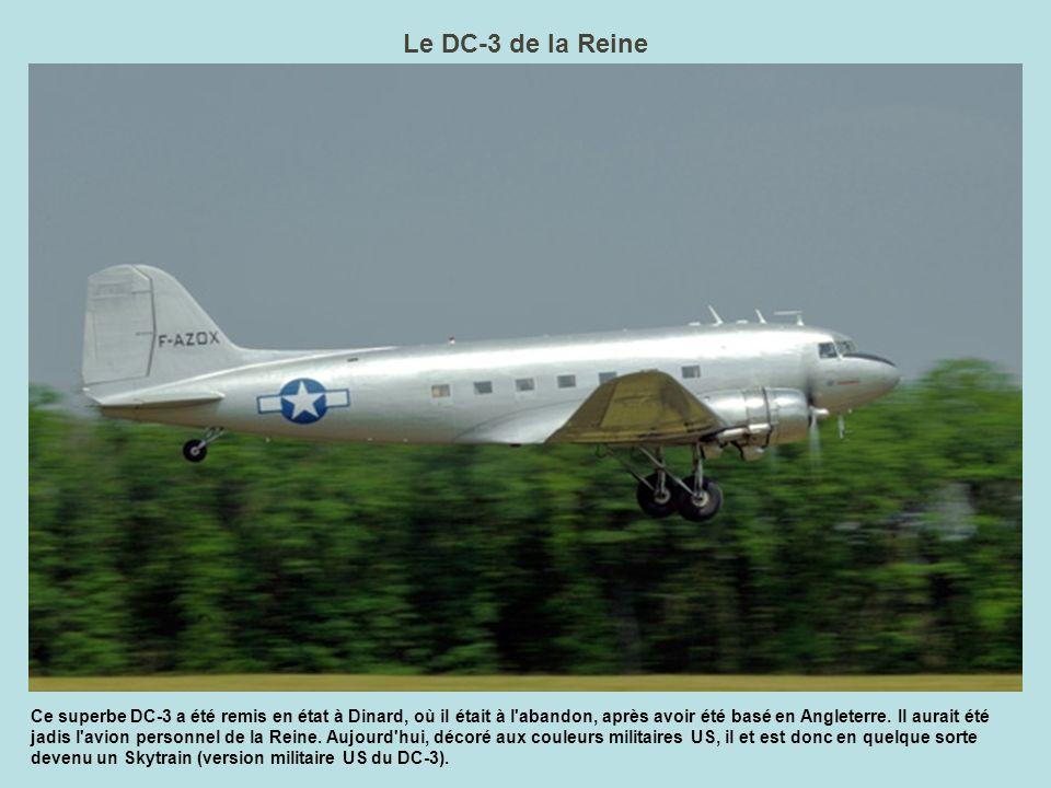 Le DC-3 de la Reine