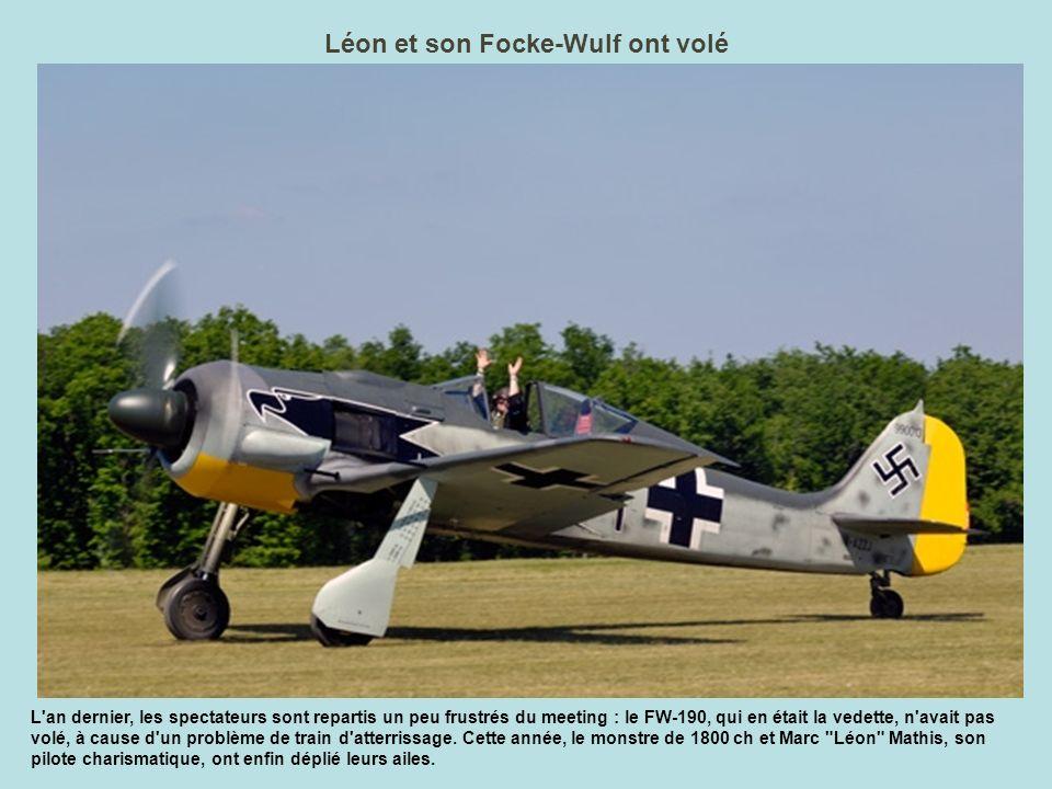 Léon et son Focke-Wulf ont volé
