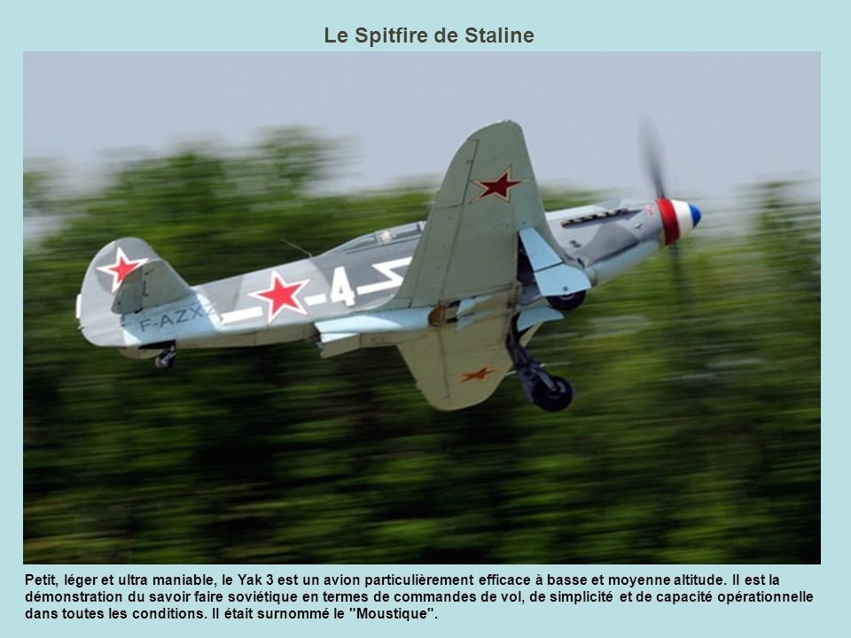 Le Spitfire de Staline