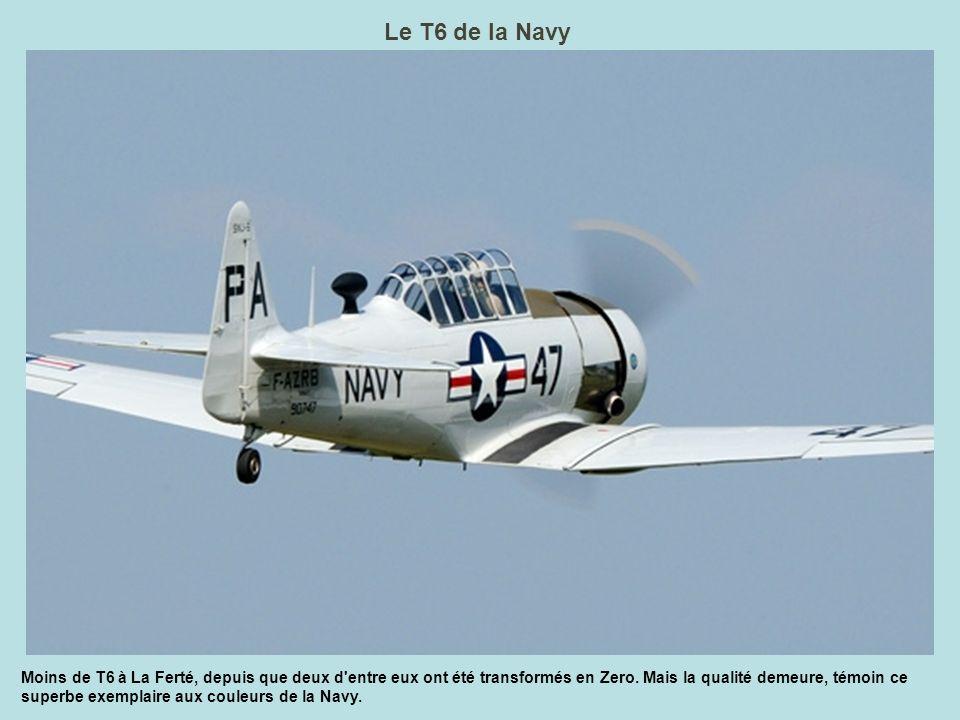 Le T6 de la Navy