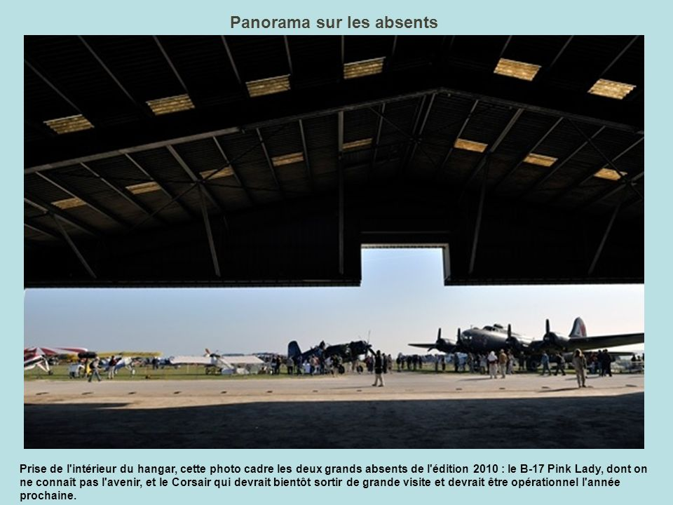 Panorama sur les absents