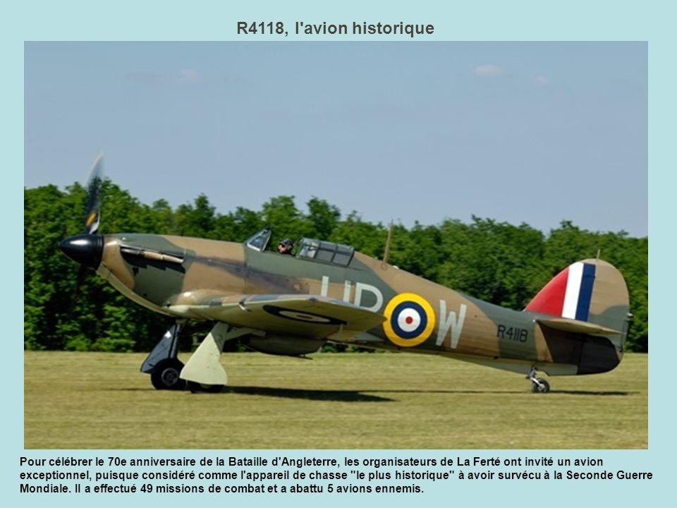 R4118, l avion historique
