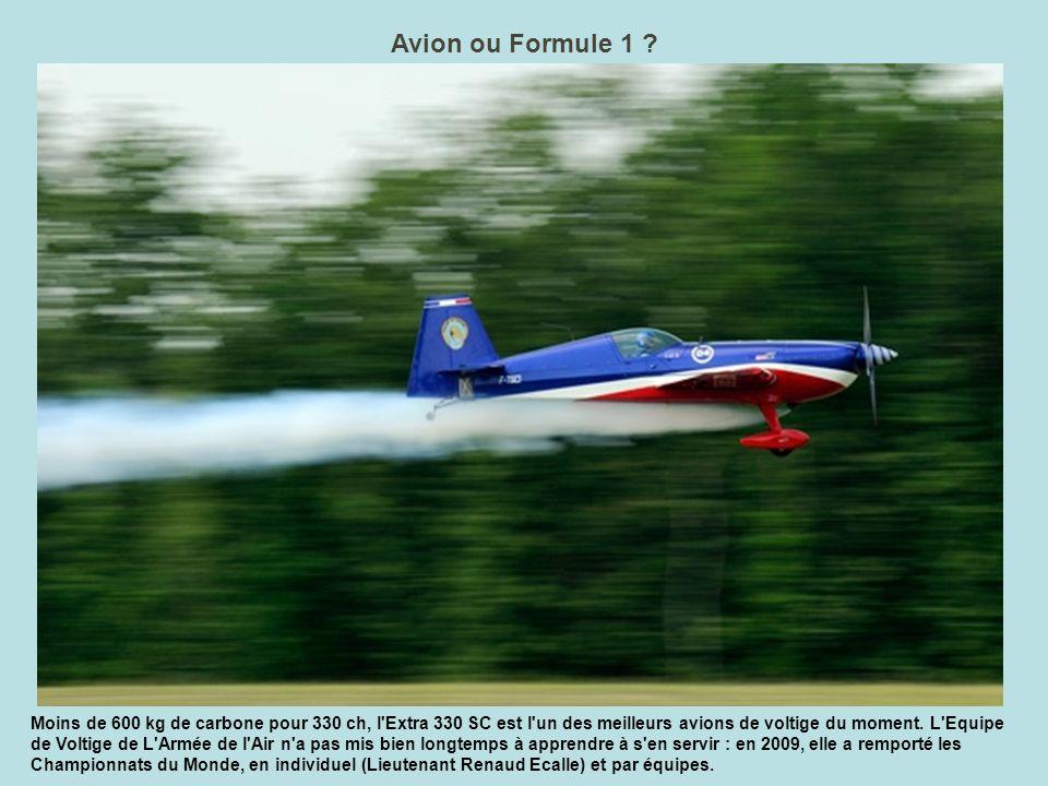 Avion ou Formule 1
