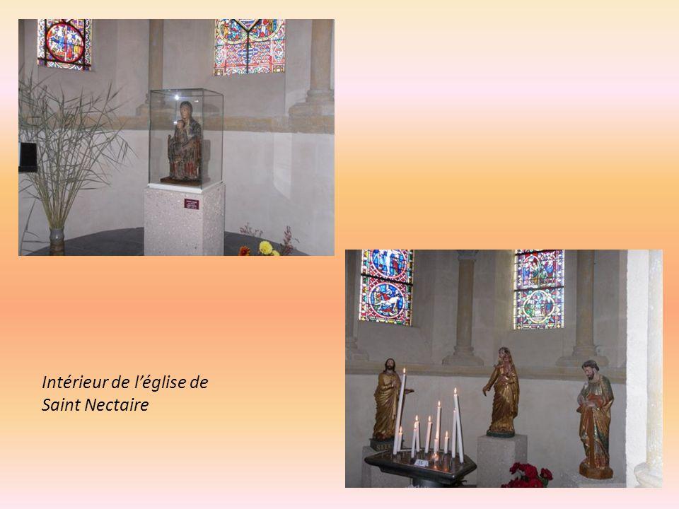 Intérieur de l'église de