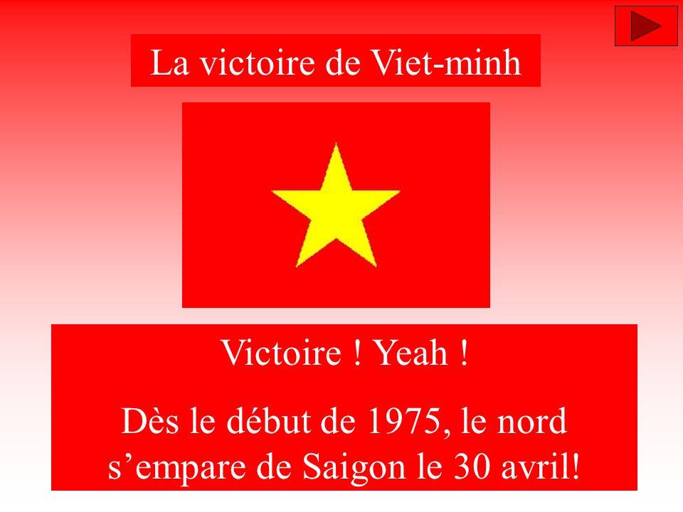 La victoire de Viet-minh