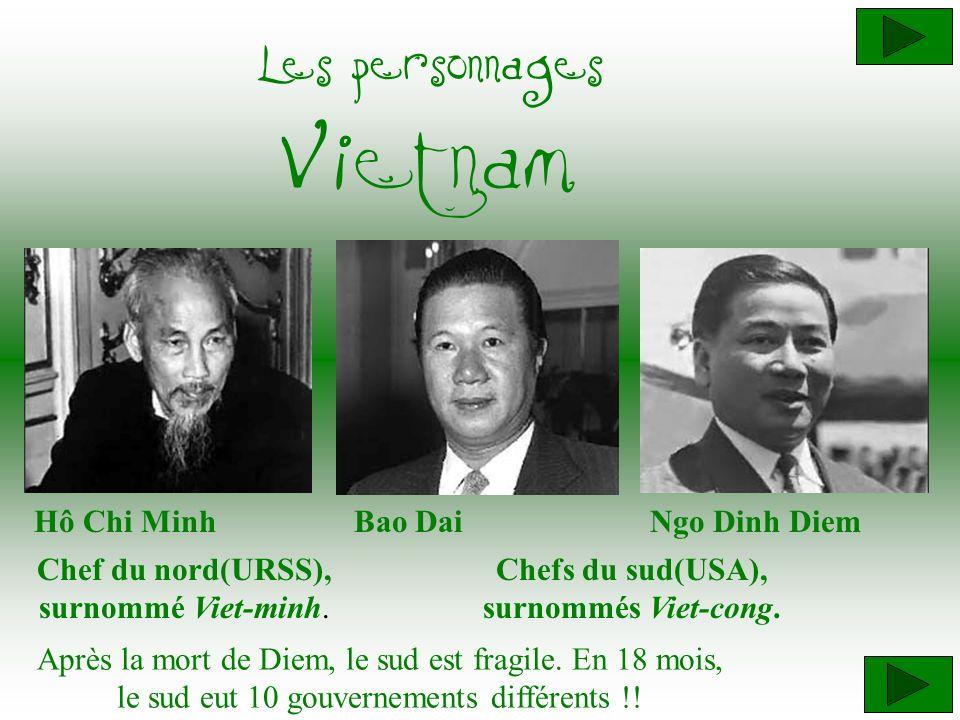 Chefs du sud(USA), surnommés Viet-cong.