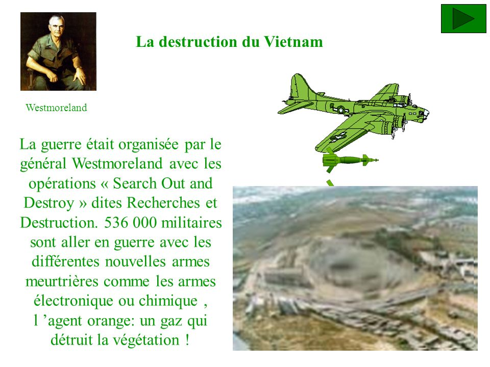 La destruction du Vietnam