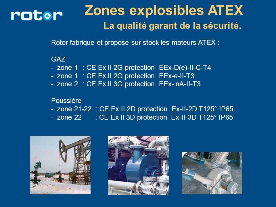 Zones explosibles ATEX