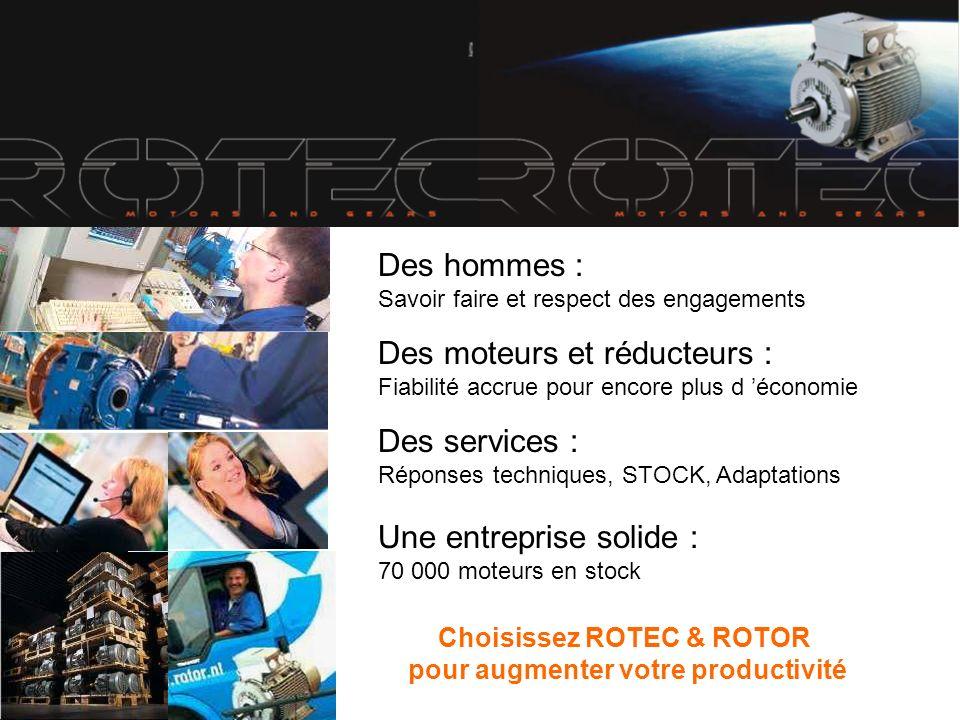 Choisissez ROTEC & ROTOR pour augmenter votre productivité