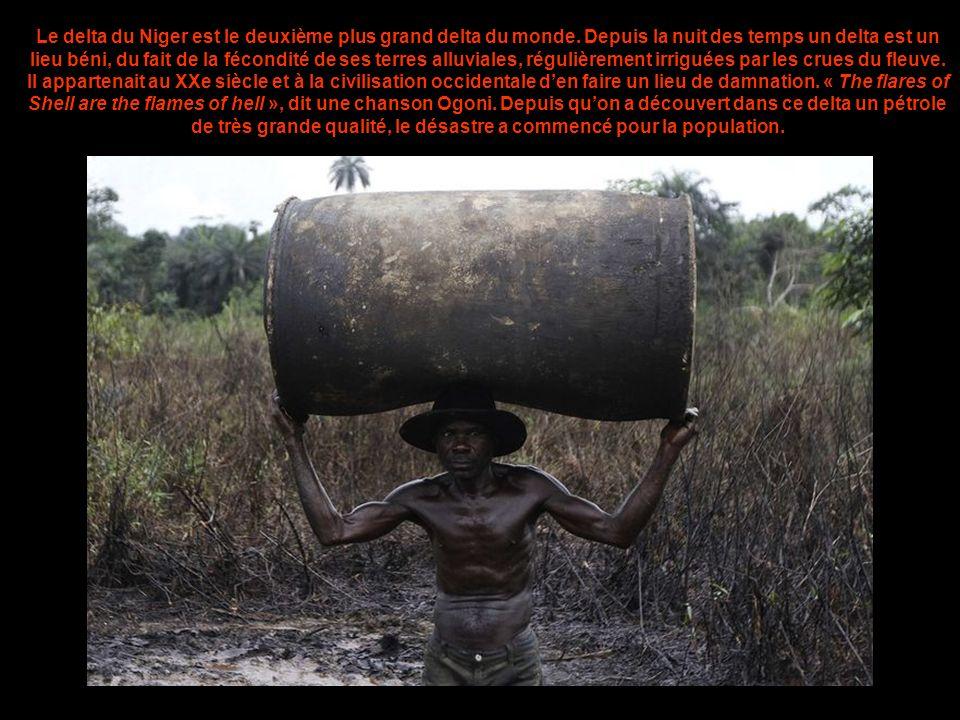 Le delta du Niger est le deuxième plus grand delta du monde