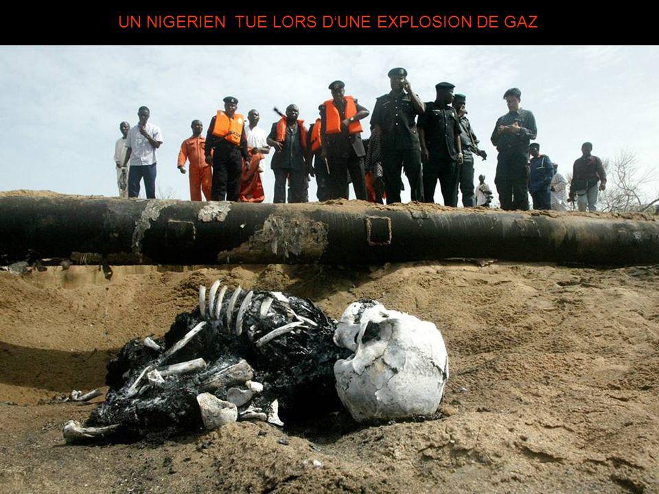 UN NIGERIEN TUE LORS D'UNE EXPLOSION DE GAZ