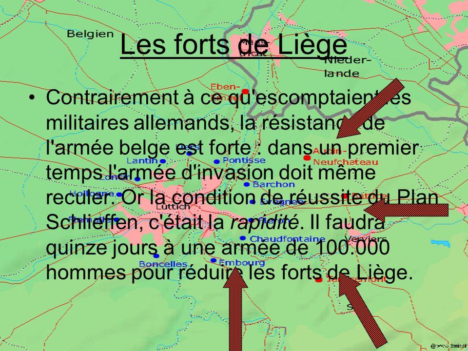 Les forts de Liège