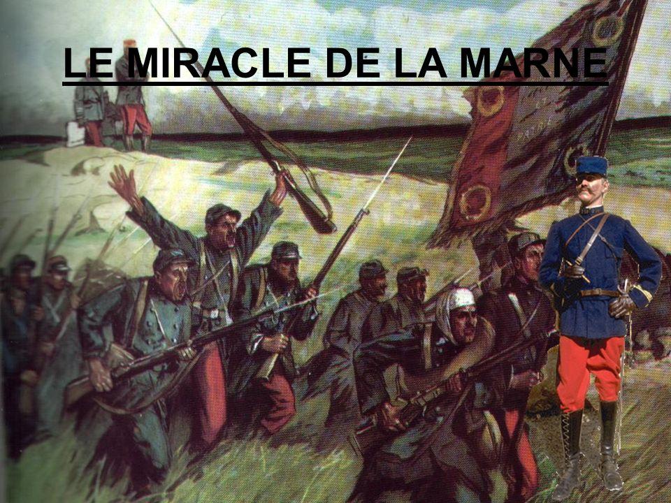 LE MIRACLE DE LA MARNE